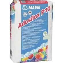 MAPEI ADESILEX P10 cementové lepidlo 25kg, jednozložkové, biela