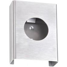 AZP BRNO zásobník na hygienické vrecká 100x135x25mm, nerez