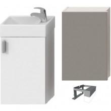 JIKA PETIT zostava nábytková 386x221x585mm, biela / biela 4.5351.2.175.300.1