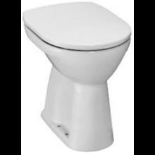 JIKA LYRA PLUS klozet 360x470x450mm, samostatne stojaci, ploché splachovanie, zvislý odpad, biela