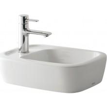 TOTO NC umývadlová misa 450x321mm s otvorom, bez prepadu, biela