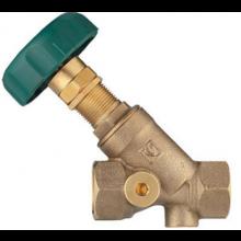 HERZ STRÖMAX-RW regulačný ventil DN40 šikmý, bez meracích ventilkov