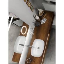 Nábytok doska Inda Perfetto horná pre skrinku 220,4x1,2x50,2 cm olmo tabak