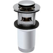 KOLO TWINS uzatvárateľný odtokový ventil Click-Clack, chróm
