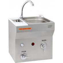 AZP BRNO AUM 07S.2 umývadlo 380x540mm, so sterilizátorom, závesné, nerez