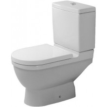 DURAVIT STARCK 3 stojaci klozet 360x655mm kombinovaný, odpad zvislý, biela/WonderGliss 01260100001