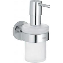 GROHE ESSENTIALS dávkovač tekutého mydla 157mm chróm/sklo 40373000