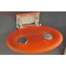 RAVAK OVO P sedadlo do sprchovacieho kúta 410x350x130mm plastové, oranžová B8F0000005