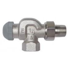 """HERZ TS-90-E termostatický ventil 1/2"""" rohový, šeciál, pre jednorúrkové sústavy"""