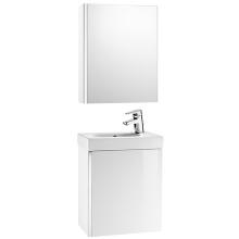 ROCA MINI nábytková zostava 450mm, skrinka s umývadlom a zrkadlovou skrinkou, biela