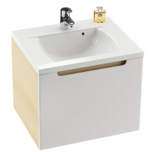 RAVAK SD CLASSIC 600 skrinka pod umývadlo 600x490x470mm biela / biela X000000347