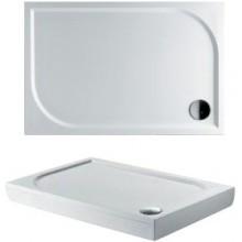RIHO KOLPING DB33 sprchová vanička 120x80cm obdĺžnik, vrátane sifónu a podpier, liaty mramor, biela