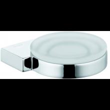 KLUDI A-XES miska na mydlo Ø120mm, chróm/sklo