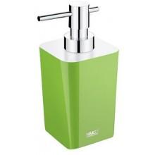 NIMCO ELI dávkovač tekutého mydla 75x90x167mm zelená/chróm
