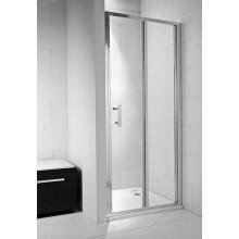 JIKA CUBITO PURE sprchové dvere 900x1950mm skladacie, transparentná 2.5524.2.002.668.1