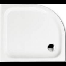 KALDEWEI ZIRKON 502-2 sprchová vanička 750x900x35mm, oceľová, štvrťkruhová, R500mm, biela