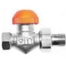 """HERZ TS-98-V termostatický ventil 3/8"""" priamy, s plynulým prednastavením a číselnou stupnicou"""