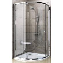 RAVAK PIVOT PSKK3 90 sprchovací kút 900x900x1900mm štvrťkruhový, bright alu / chróm / transparent 37677C00Z1