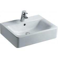 IDEAL STANDARD CONNECT CUBE umývadlo 550x460mm s otvorom a prepadom biela E713901