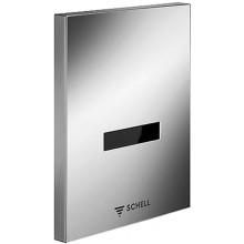 SCHELL EDITION E infra-senzorový splachovač pisoára 124x153,5mm, chróm