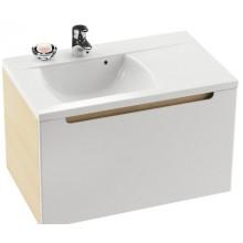 RAVAK CLASSIC SD 800 L skrinka pod umývadlo 800x470x490mm ľavá, breza/biela
