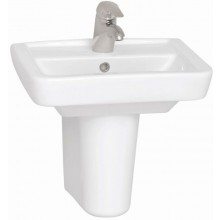 CONCEPT 100 umývadielko 500x390mm s otvorom, biela alpin 5275L003-1121