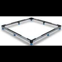 Príslušenstvo k vaničkám Kaldewei - FR 5300 inštalačný rám pre vaničky  1200x1200  chróm