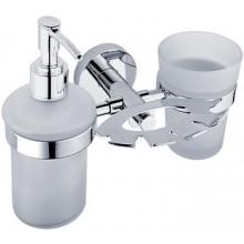 NIMCO UNIX držiak kefiek, poháre a dávkovače 194x165x130mm chróm UN 1305731C-P-26