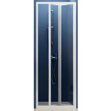 RAVAK SUPERNOVA SDZ2 70 sprchové dvere 670x710x1850mm dvojdielne, zalamovacie, biela / pearl 01V1010011
