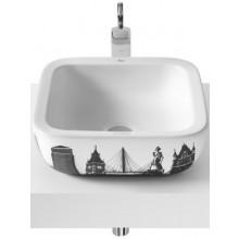 ROCA URBAN LONDON umývadlová misa 400x400mm bez otvoru, biela