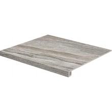 RAKO RANDOM schodovka 60x53cm, tmavo šedá