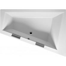 RIHO DOPPIO BA91 vaňa 180x130x52cm, asymetrická, ľavá, akrylátová, biela