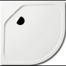 KALDEWEI FONTANA 564-2 sprchová vanička 900x900x25mm, oceľová, štvrťkruhová, R520mm, biela