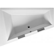 RIHO DOPPIO BA90 vaňa 180x130x52cm, asymetrická, pravá, akrylátová, biela
