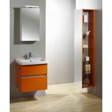 LEBON Q2 zrkadlová skrinka 50x15x70cm, s osvetlením, ľavá, biela