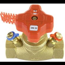 HERZ STRÖMAX-GM regulačný ventil DN15 priamy, vyvažovací, s meracími ventilčekmi