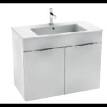 JIKA CUBE skrinka s umývadlom 800x340x607mm, biela / biela 4.5375.2.176.300.1