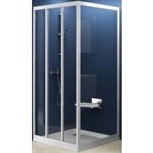 RAVAK SUPERNOVA APSS 90 pevná stena 870x905x1880mm jednodielna, biela / transparent 94070102Z1