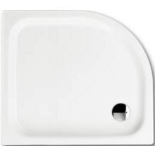 KALDEWEI ZIRKON 513-1 sprchová vanička 900x900x65mm, oceľová, štvrťkruhová, R500mm, biela, Perl Effekt, Antislip