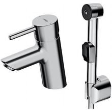 HANSA VANTIS STYLE umývadlová batéria DN15, stojančeková, páková, s ručnou sprchou, chróm