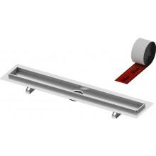TECE DRAINLINE sprchový žľab 911mm, rovný, s tesniacou páskou Seal System, nerez