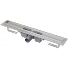 CONCEPT líniový podlahový žľab 950mm, st. výška 100-158mm, s okrajom pre perforovaný rošt, nerez