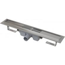 CONCEPT 100 PROFESSIONAL podlahový žľab 710mm s okrajom, pre plný rošt, nerez