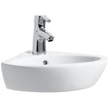 LAUFEN PRO B rohové umývadlo 440x380mm s otvorom, biela
