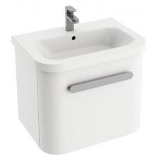 RAVAK CHROME SD 650 skrinka 615x450x450mm pod keramické umývadlá, biela