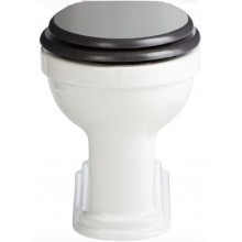 HERITAGE CLAVERTON WC misa 425mm, bez nádržky, biela