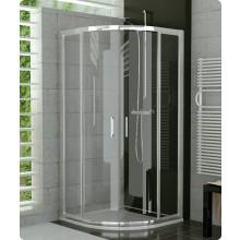 SANSWISS TOP LINE TER sprchovací kút 900x900x1900mm s dvojkrídlovými dverami, štvrťkruh, aluchrom/číre sklo Aquaperle