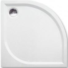 ROLTECHNIK DREAM-M sprchovacia vanička 900x900x30mm R550 mramorová, štvrťkruhová, biela