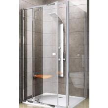 RAVAK PIVOT PPS-100 pevná stena 970-995x1900mm jednodielna, bright alu/transparent