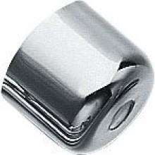 SILFRA krytka na pisoár 50x35mm s otvorom, chróm